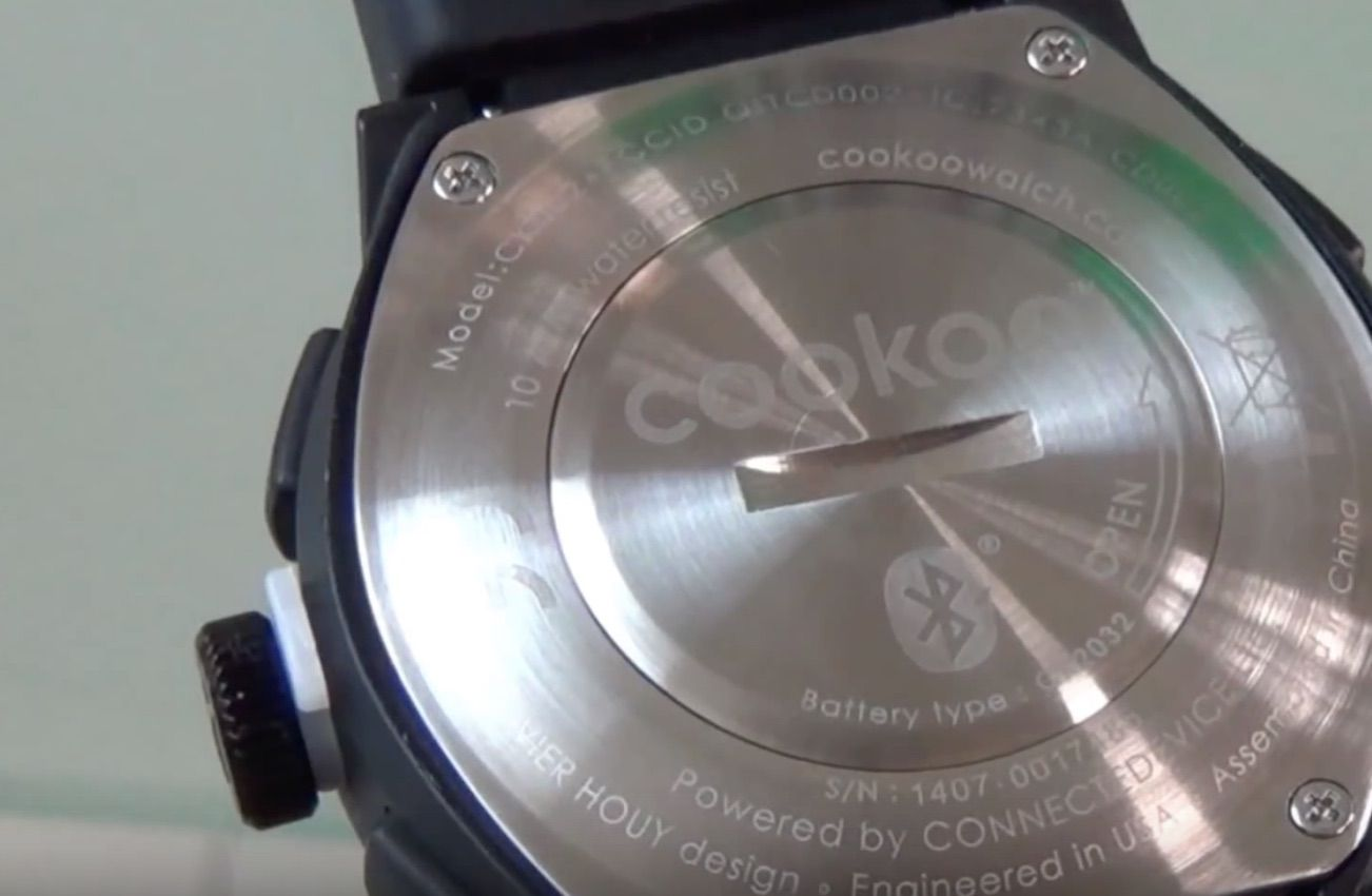 CooKoo 2 Smartwatch-montre connectee- iOS-Android