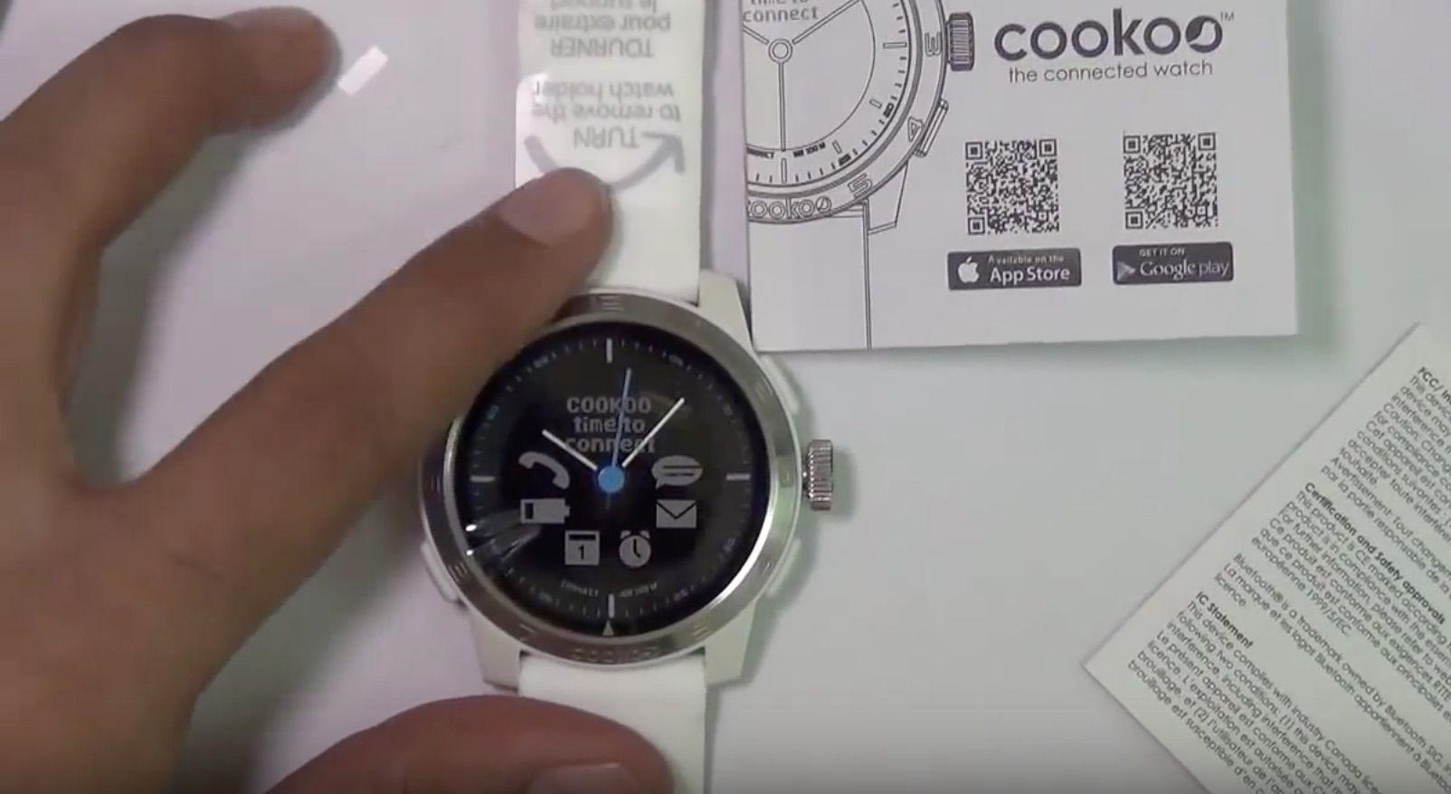 Cookoo Watch 2 -montre connectee-smartwatch