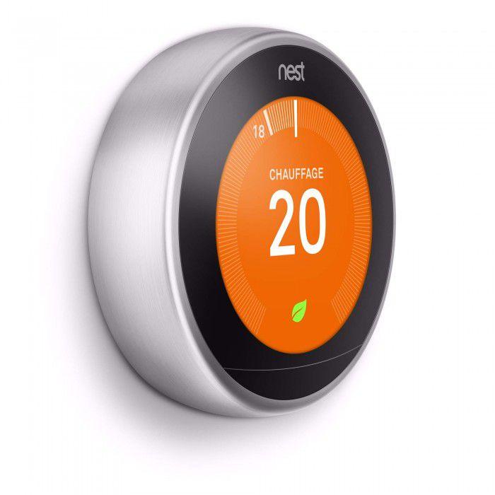 Thermostat connecté Nest.