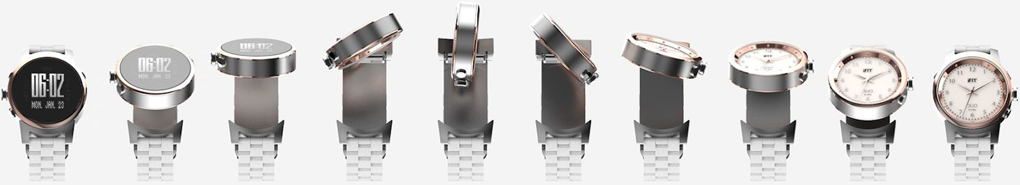 Montre connectée iFit Duo - Systeme Reverso
