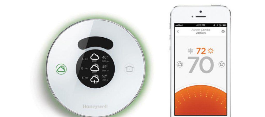 Les thermostats connectés sont généralement pilotables à partir d'un terminal mobile via une application dédiée