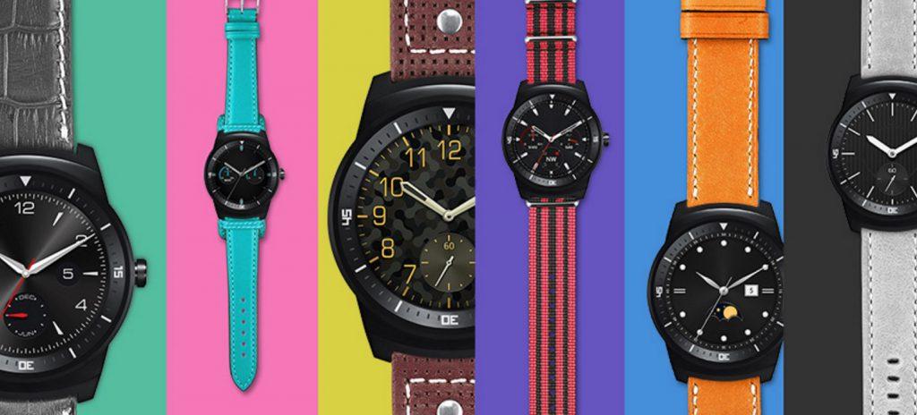LG W110 LG G Watch R – Smartwatch a ecran rond P-OLED