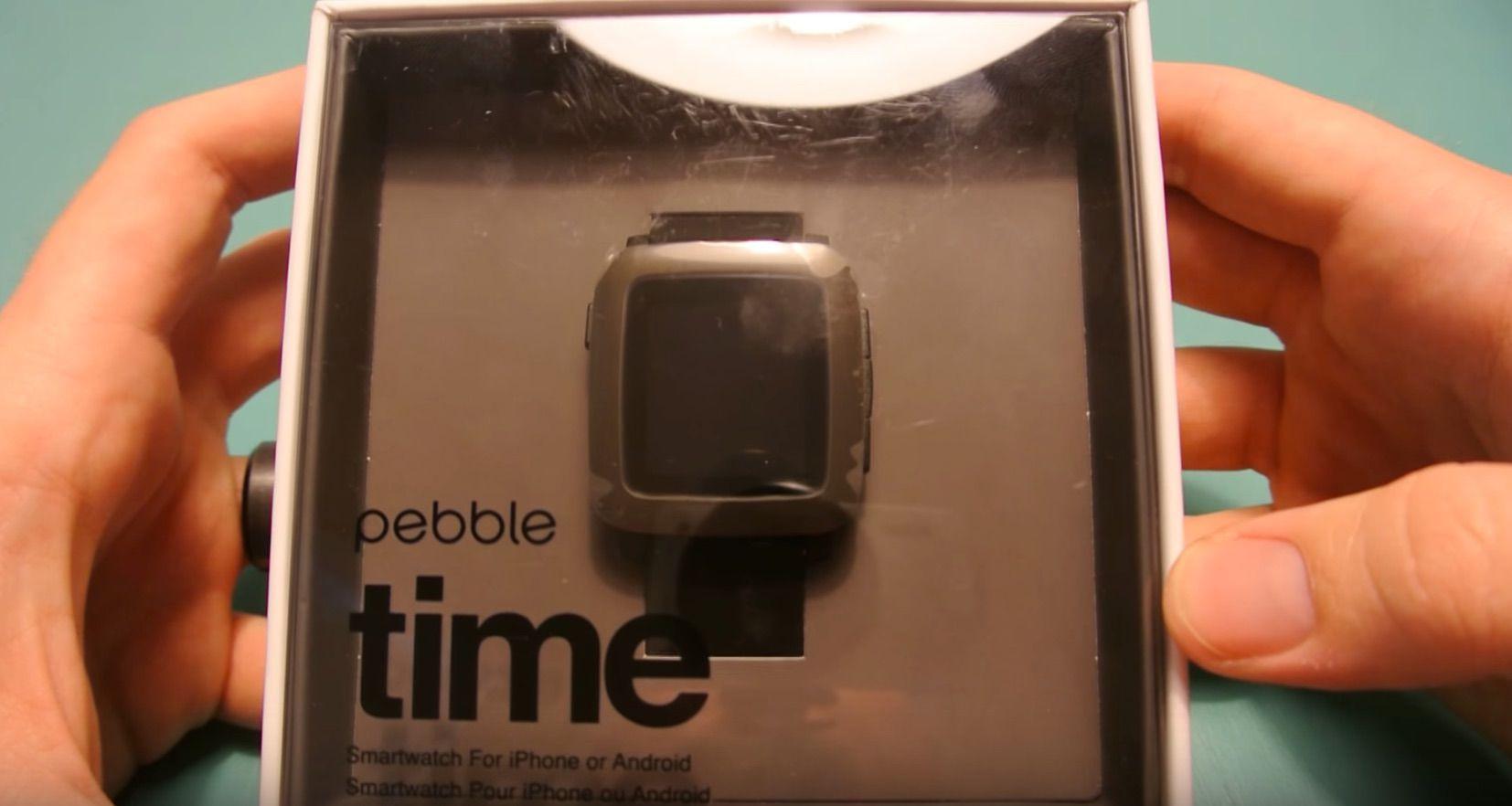 Pebble Time Unboxing montre connectee-maison-connectee