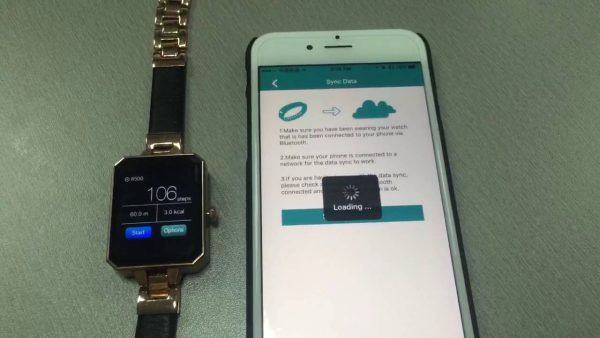 Synchronisation de la Lemfo Lem2 avec un smartphone
