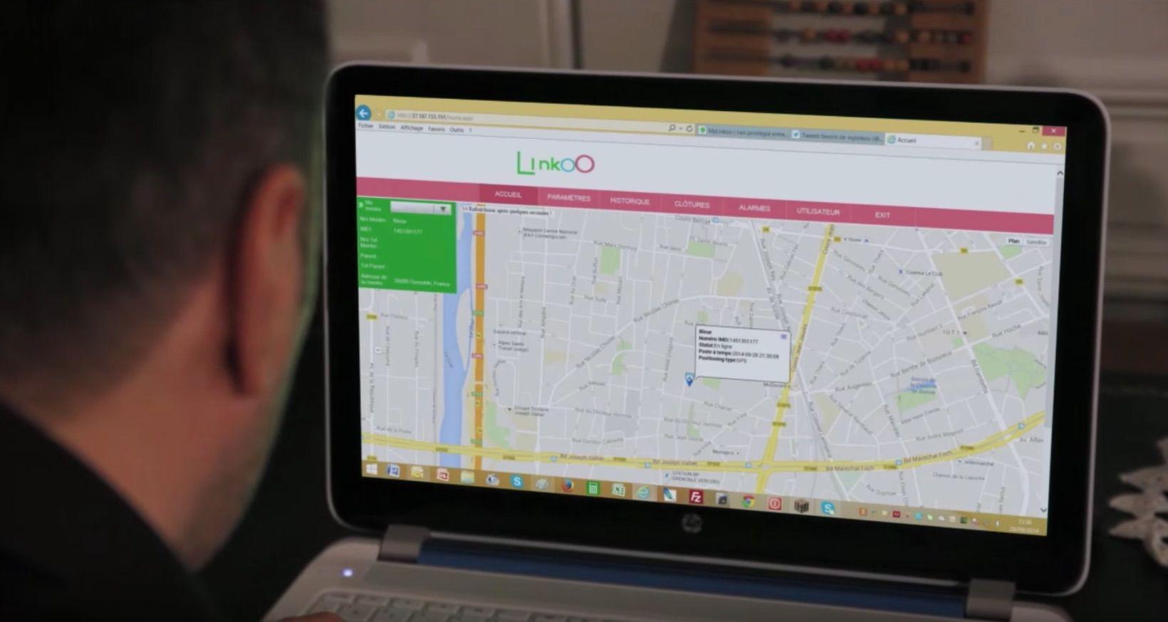 Linkoo Pop : montre connectee pour enfants avec fonction geolocalisation