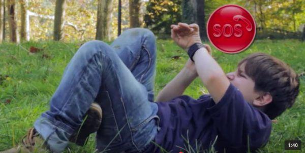 Linkoo Pop : montre connectee pour enfants avec la fonction SOS