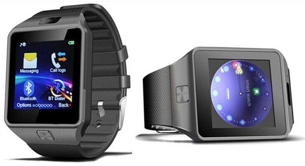 smart watch dz09 une surprenante montre connect e. Black Bedroom Furniture Sets. Home Design Ideas