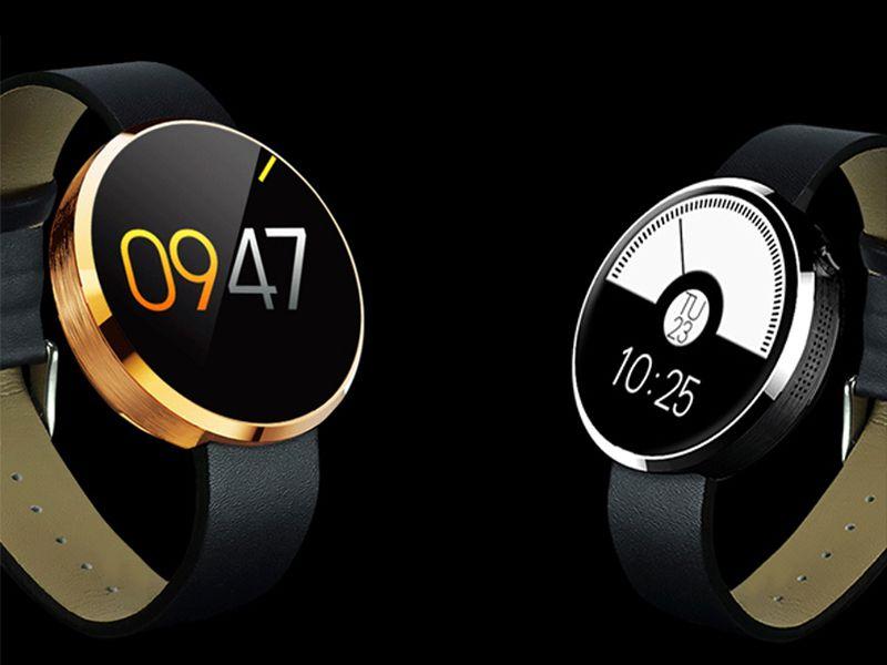 La montre connectée ZTE W01 avec son design qui ne ressemble pas à celui des gadgets de ce genre.