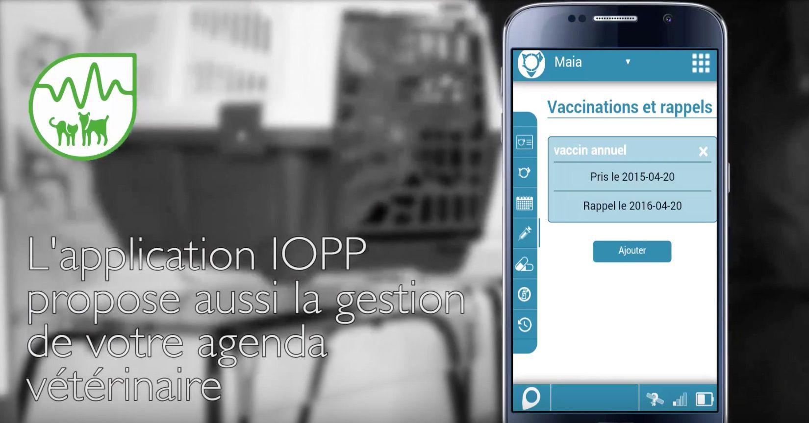 Collier connecté GPS de chez Eyenimal / Numaxes, IOPP Tracker