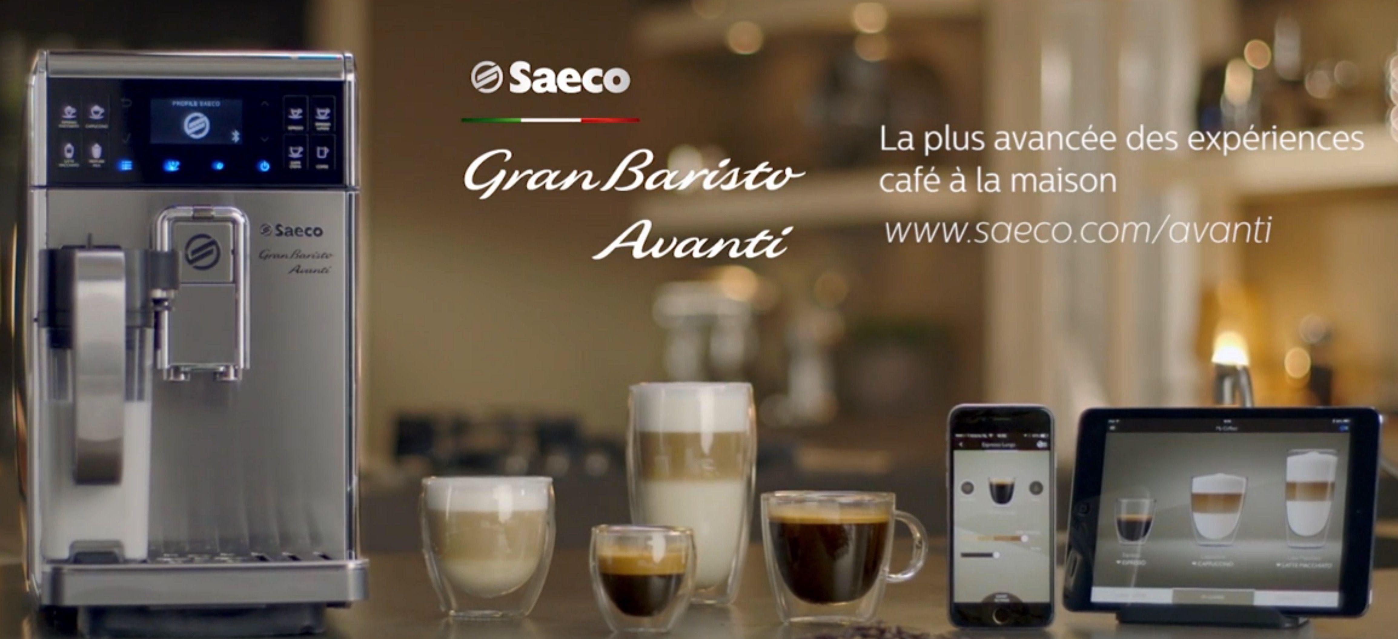 Saeco HD8977/01 granbaristo avanti machine espresso super automatique