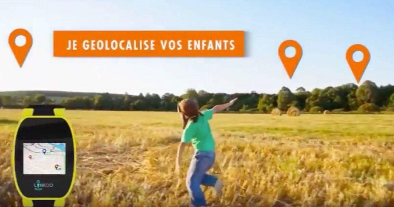 Linkoo Pop Junior, la montre connectee pour geolocaliser vos enfants