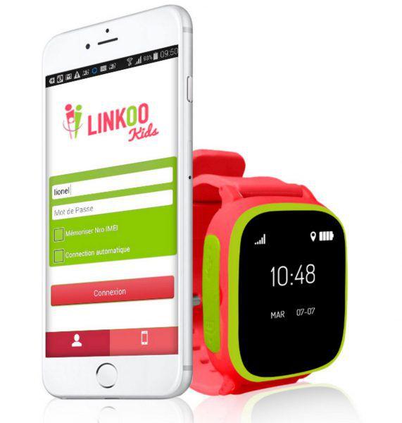 Linkoo Pop : montre connectee pour enfants