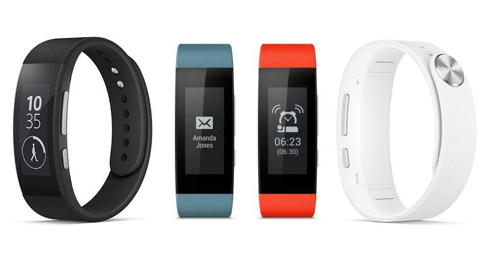 Le bracelet Sony SWR30 est disponible en plusieurs couleurs