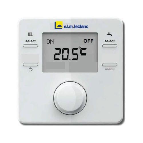 Thermostat d'ambiance connecté elm Leblanc NSC RF
