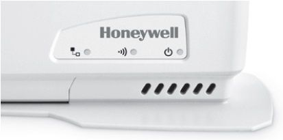 LEDs témoins de la passerelle de communication Internet du Honeywell Y87RF