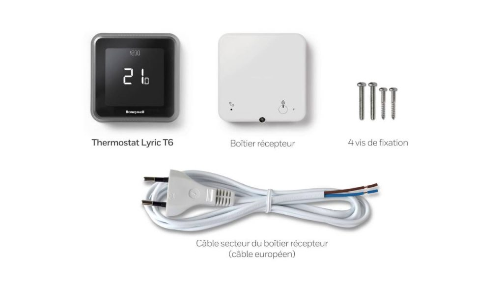 Composants du pack Lyric T6 Honeywell