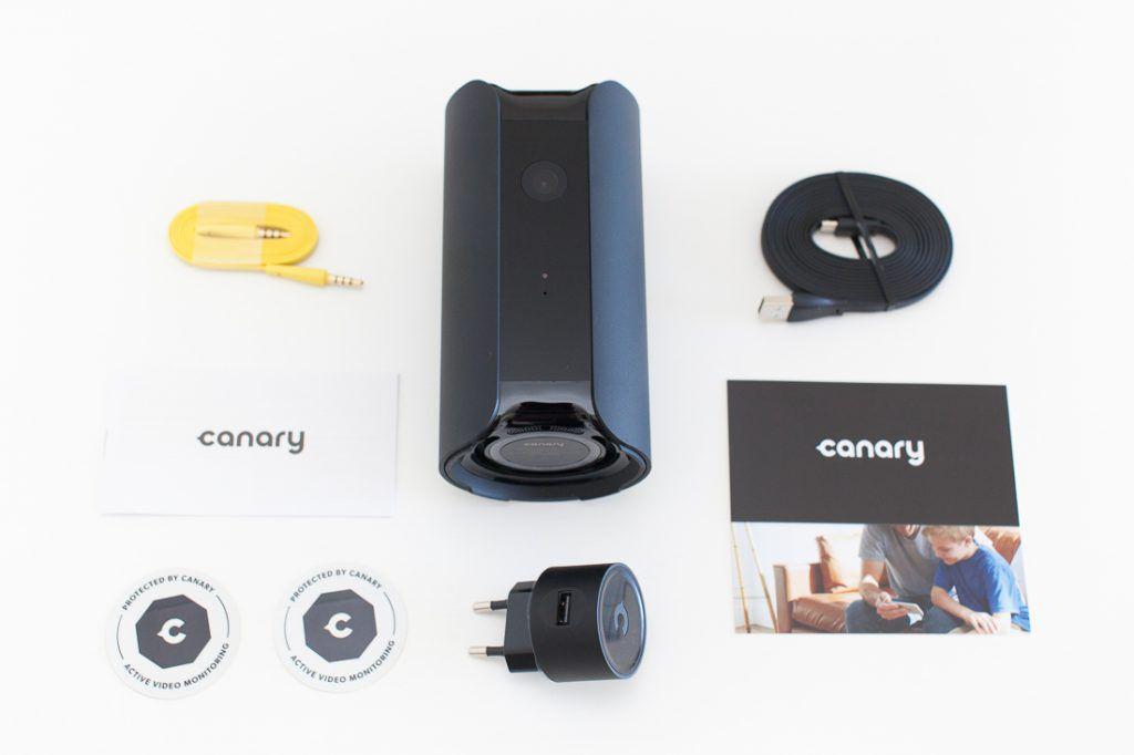 Les composants du pack Canary