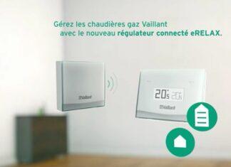 eRELAX est un régulateur connecté de la marque Vaillant