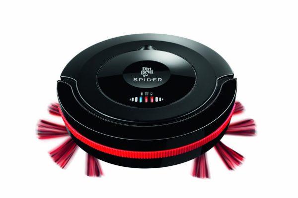 Le robot aspirateur Dirt Devil Spider M607 noir