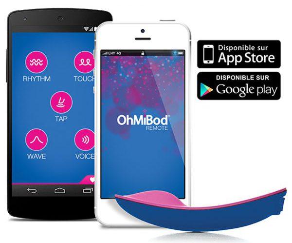 Application pour le sextoy connecté Ohmibod BLUEMOTION NEX1