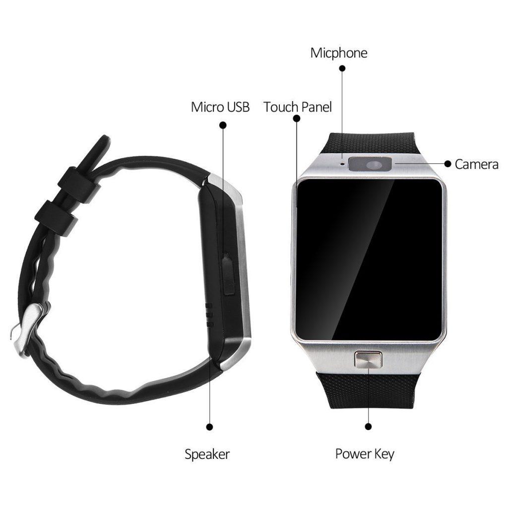 Caractéristiques de la Padgene Smart Watch