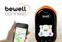 Le tracker GPS Bewell Connect