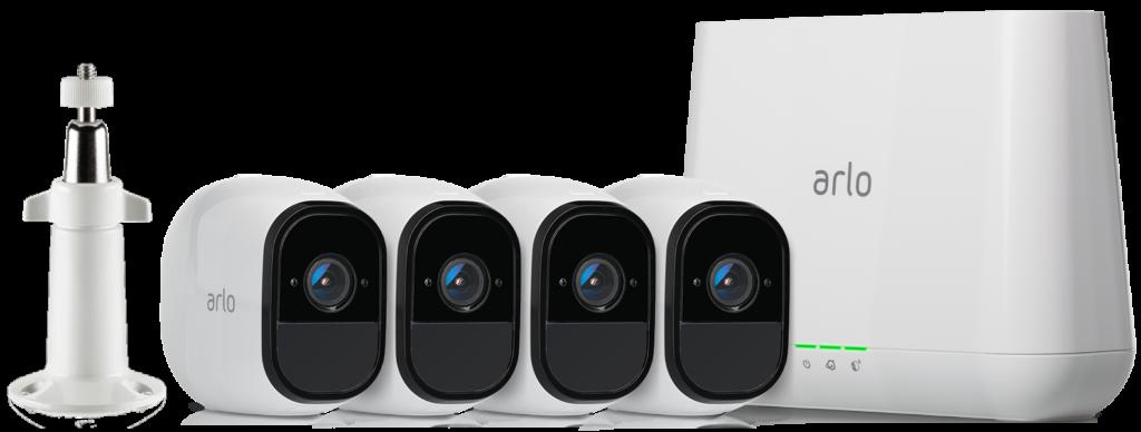 Package Caméra ip de surveillance Netgear arlo VMC3030-100EUS