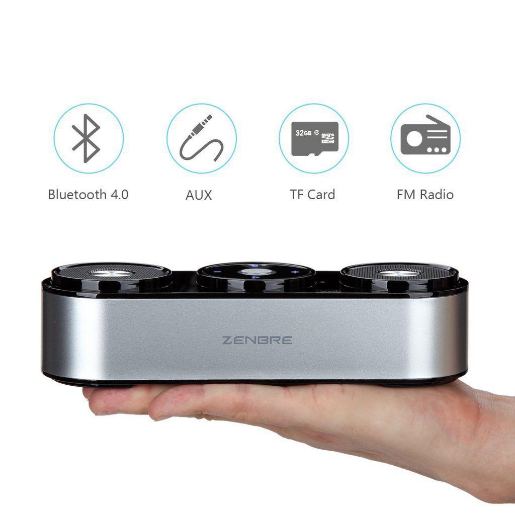 Enceinte Bluetooth ZENBRE Z3, enceinte sans Fil 10W avec 20h d'autonomie