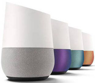 l'Assistant Google Home l'enceinte à commande vocale