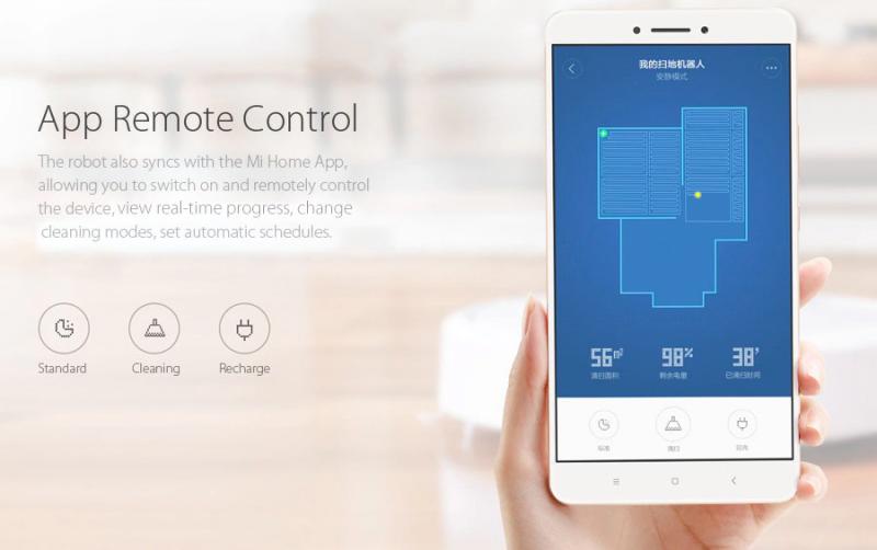 Application Xiaomi Mi Robot Vacuum